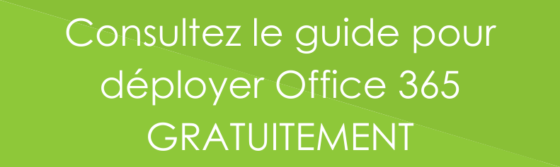 Bouton Guide déployer Office