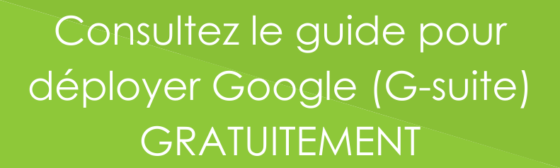 New bouton déployer Google